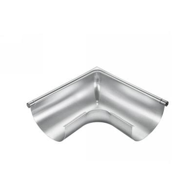 Titanzink Außenwinkel gezogen für halbrunde Dachrinne RG200 Winkel 90° Grad