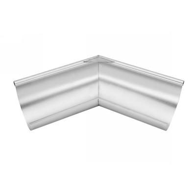 Titanzink Außenwinkel gelötet für halbrunde Dachrinne RG200 Winkel 135° Grad