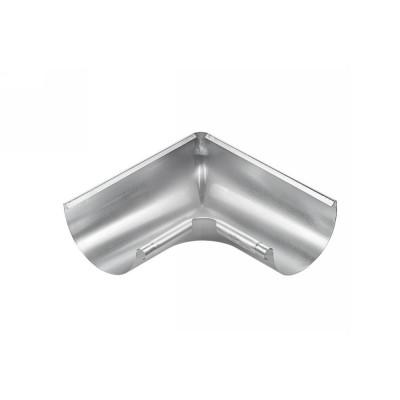 Titanzink Innenwinkel gezogen für halbrunde Dachrinne RG333 Winkel 90° Grad