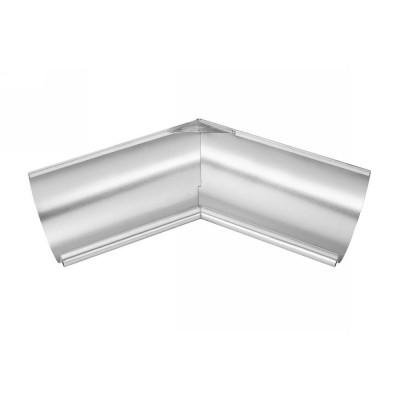 Titanzink Innenwinkel gelötet für halbrunde Dachrinne RG200 Winkel 135° Grad