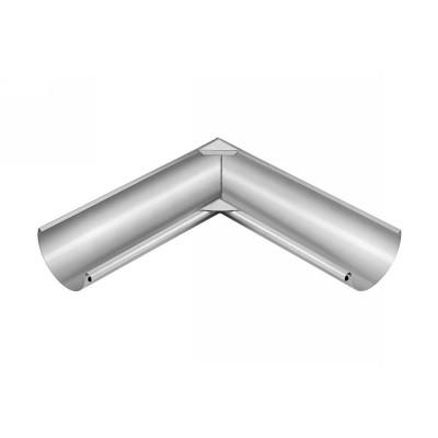 Titanzink Innenwinkel gelötet für halbrunde Dachrinne RG333 Winkel 135° Grad