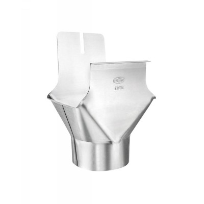 Titanzink Einhangstutzen RG250/DN80 für kastenförmige Dachrinnen