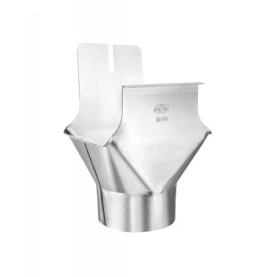 Titanzink Einhangstutzen RG333/DN100 für kastenförmige Dachrinnen