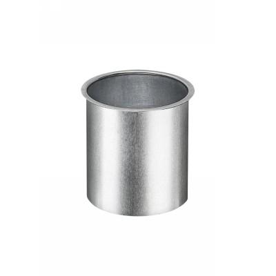 Titanzink Lötstutzen glatt für Kastenrinne RG250 und Fallrohr DN76