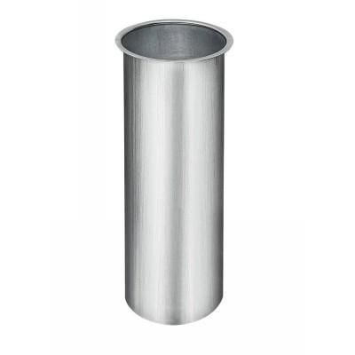 Titanzink Lötstutzen glatt 250 mm lang für Fallrohr DN100