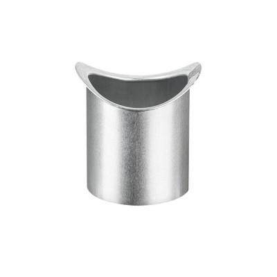 Titanzink Lötstutzen für halbrunde Dachrinne RG280 und Fallrohr DN76