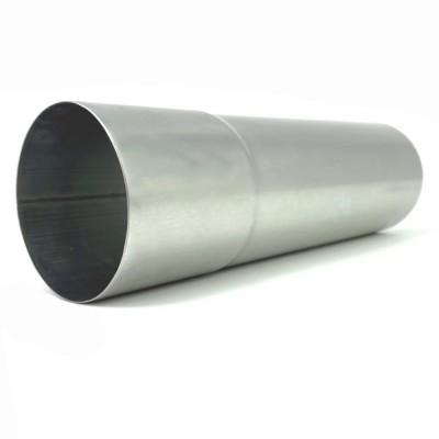 Titanzink Fallrohr DN100 rund Länge 0,75 Meter