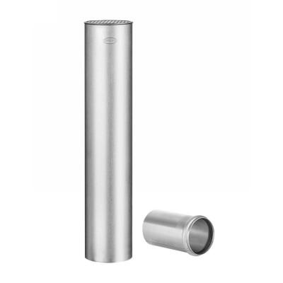 Titanzink Flachdach-Abzweig universal rund HT/KG Ø75 an DN100