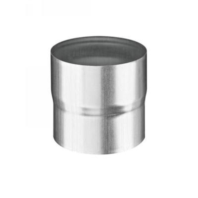 Titanzink Steckmuffe - Rohrverbinder DN76 rund