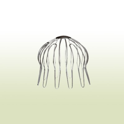 Verzinktes Laubfangsieb für Fallrohr 76 - 80 mm