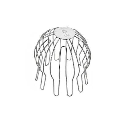 Verzinktes Laubfangsieb für Fallrohr 87 mm