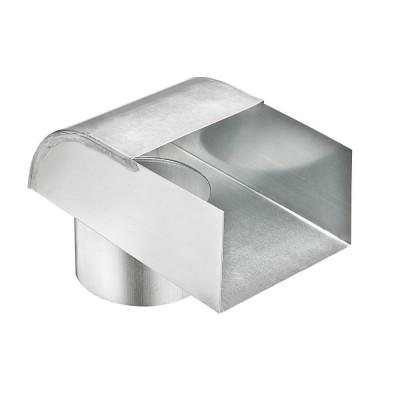Titanzink Auslaufstutzen universal für Fallrohr DN100