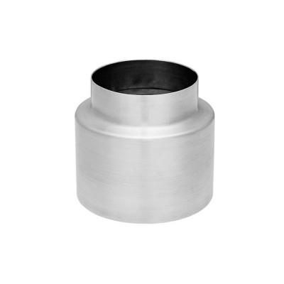 Titanzink KG-Rohr Blende 100/132mm zur optischen Verblendung des KG-Rohres