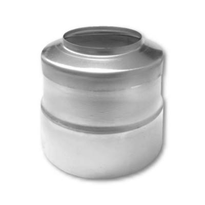 Titanzink KG-Rohr Blende Ø 120 mm für Fallrohr DN76