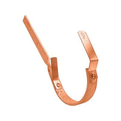 Kupfer Rinneneisen lang gedreht halbrund RG400