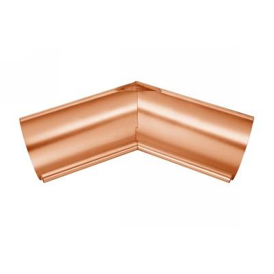 Kupfer Innenwinkel gelötet für halbrunde Dachrinne RG333 Winkel 135° Grad