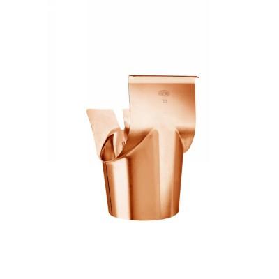 Kupfer Schrägstutzen konisch halbrund RG280/118 Winkel 40° Grad