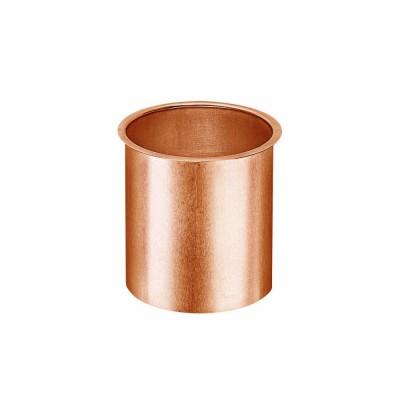 Kupfer Lötstutzen glatt für Kastenrinne RG333 und Fallrohr DN100