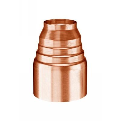 Kupfer Passkonus zum Fallrohranschluß von DN60, 76, 80 oder 87 an DN100