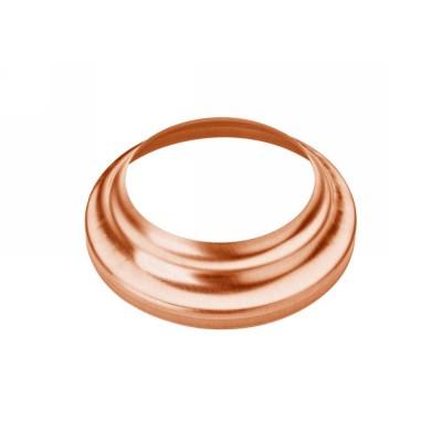 Kupfer Standrohrkappe hoch rund 100/120 für Standrohr DN100