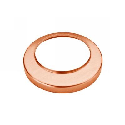 Kupfer Standrohrkappe flach rund 100/116 für Standrohr DN100