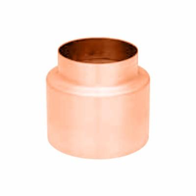 Kupfer KG-Rohr Blende 100/132mm zur optischen Verblendung des KG-Rohres