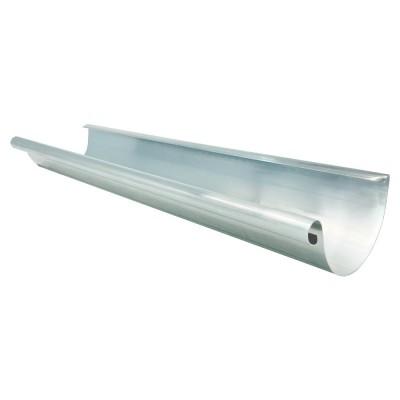 Aluminium Dachrinne halbrund RG200 Länge 1,0 Meter