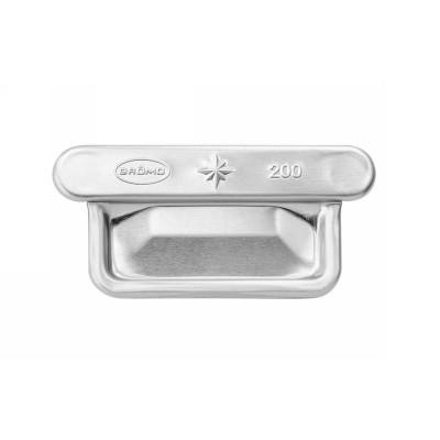 Aluminium Falzrinnenboden universal für kastenförmige Dachrinne RG200