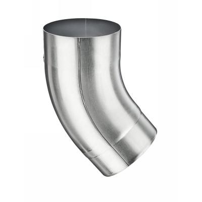 Aluminium Fallrohrbogen mit Einzug rund DN120 / 40° Grad