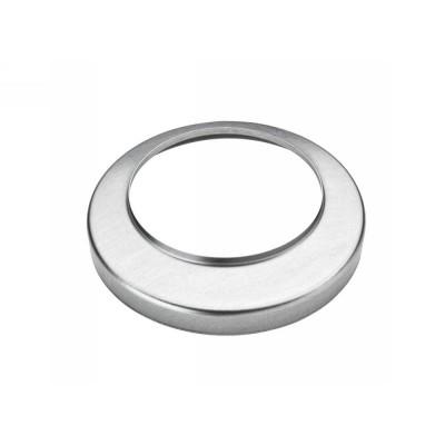 Aluminium Standrohrkappe flach rund 100/116 für Standrohr DN100