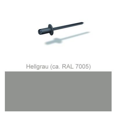PREFA Patentnieten 4,1mm, hellgrau