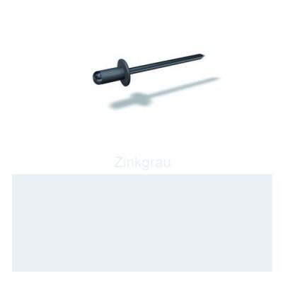 PREFA Patentnieten 4,1mm, zinkgrau