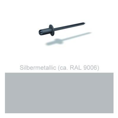 PREFA Patentnieten 4,1mm, silbermetallic