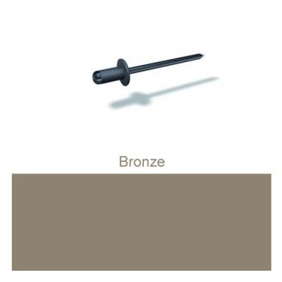 PREFA Patentnieten 4,1mm, bronze