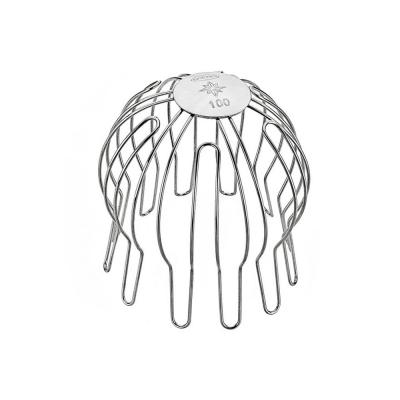 Edelstahl Laubfangsieb für Fallrohr 100 mm